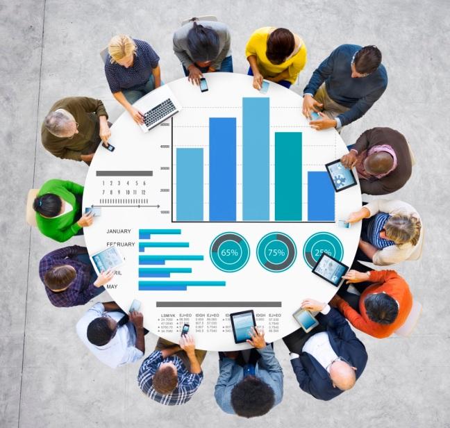 Diversity People Marketing Strategy Digital Communication Ideas Concept