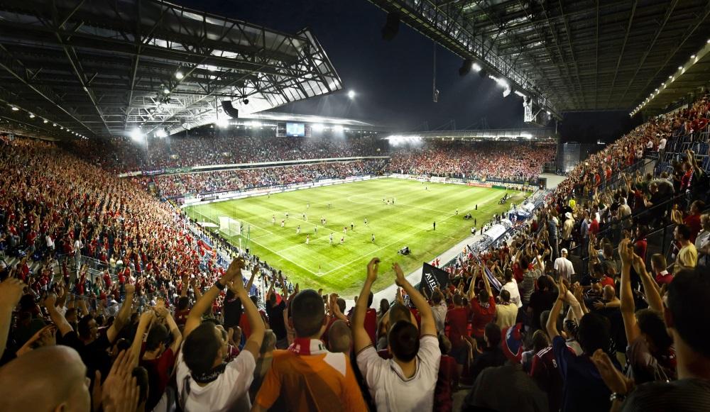 Wisła Kraków soccer stadium