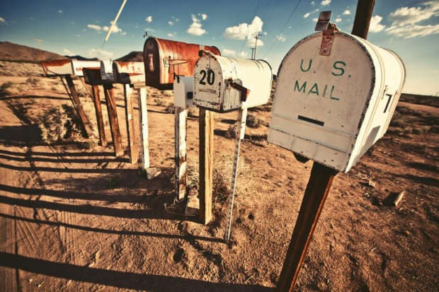 Old Mailboxes in west United States